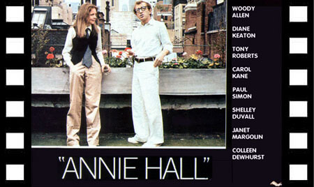 Cartel de 'Annie Hall', de Woody Allen.