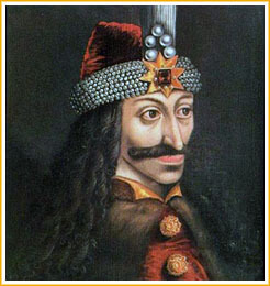 Retrato de Vlad Tepes.