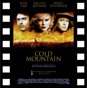 Cartel de 'Cold Mountain', de Anthony Minghella.