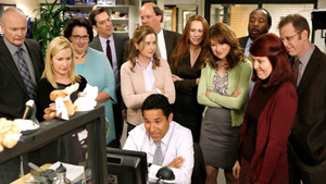 "Gran parte del reparto de 'The Office', con Ã""scar a la cabeza."